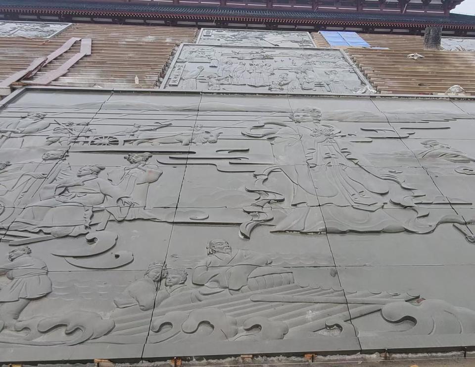 四川生产厂家2号料青石浮雕