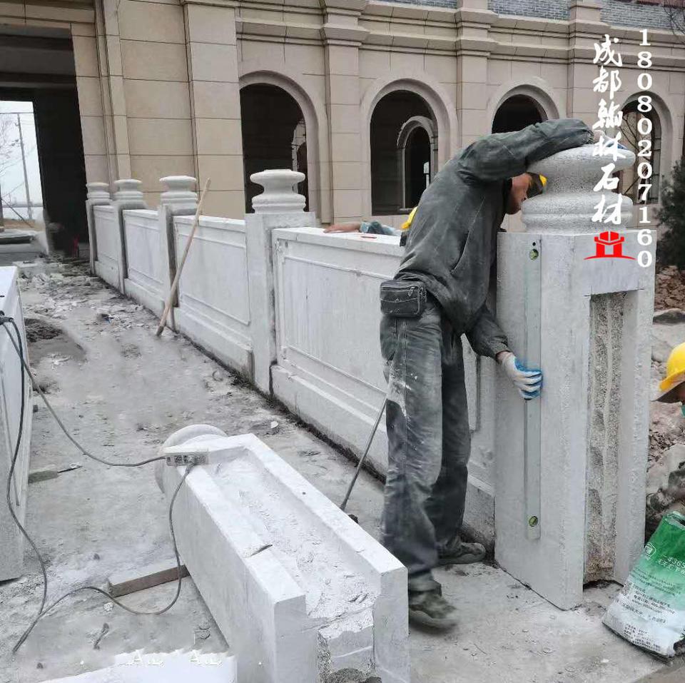 四川厂家花岗石栏杆保证做工品质