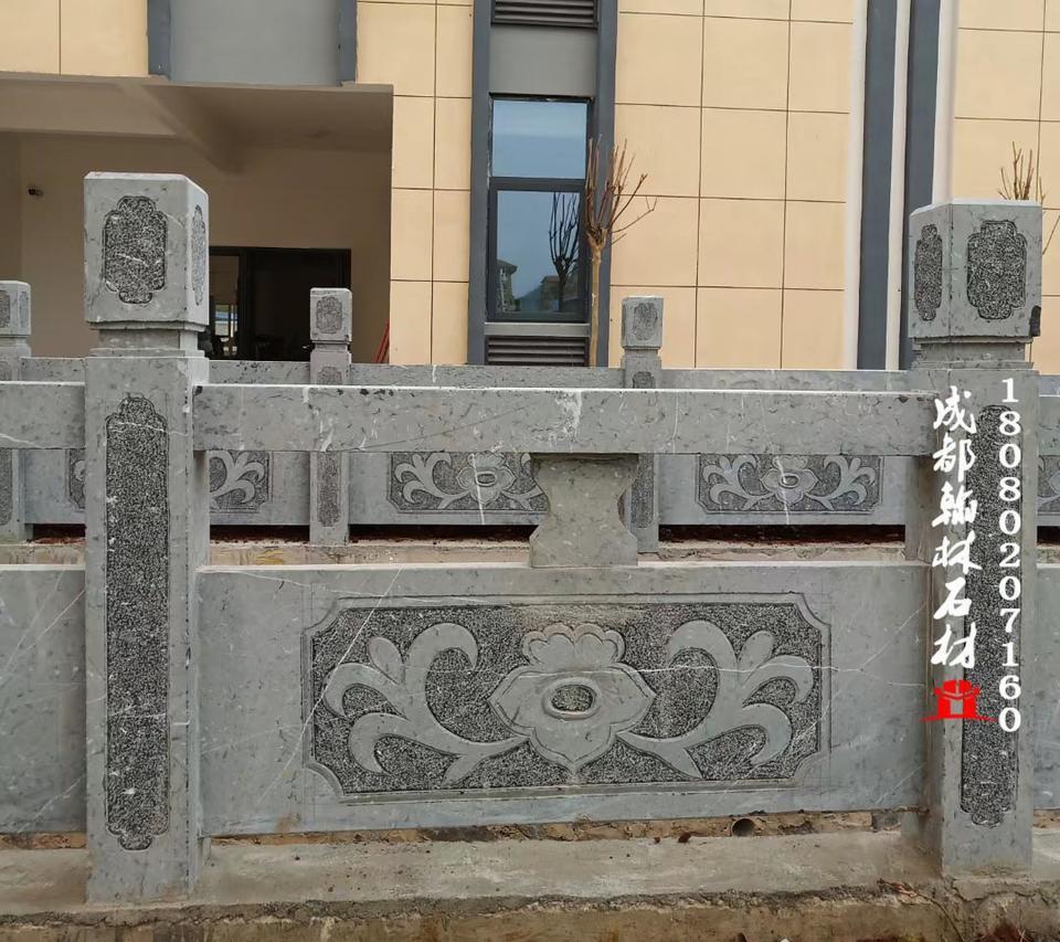 贵州厂家直销油青石河道栏杆