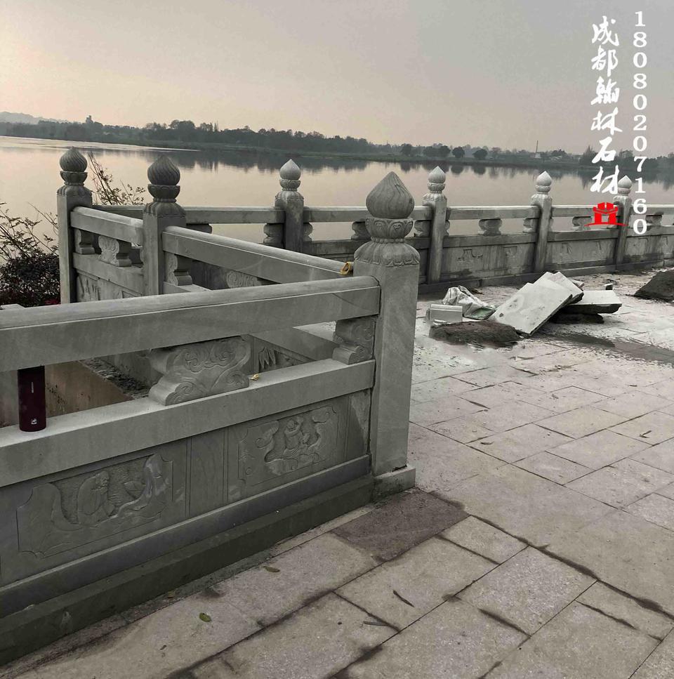 四川青石佛祖栏杆