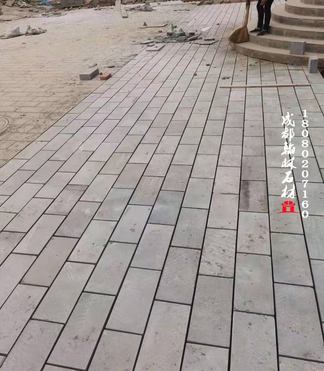 四川厂家直销人行道青砂石地铺板