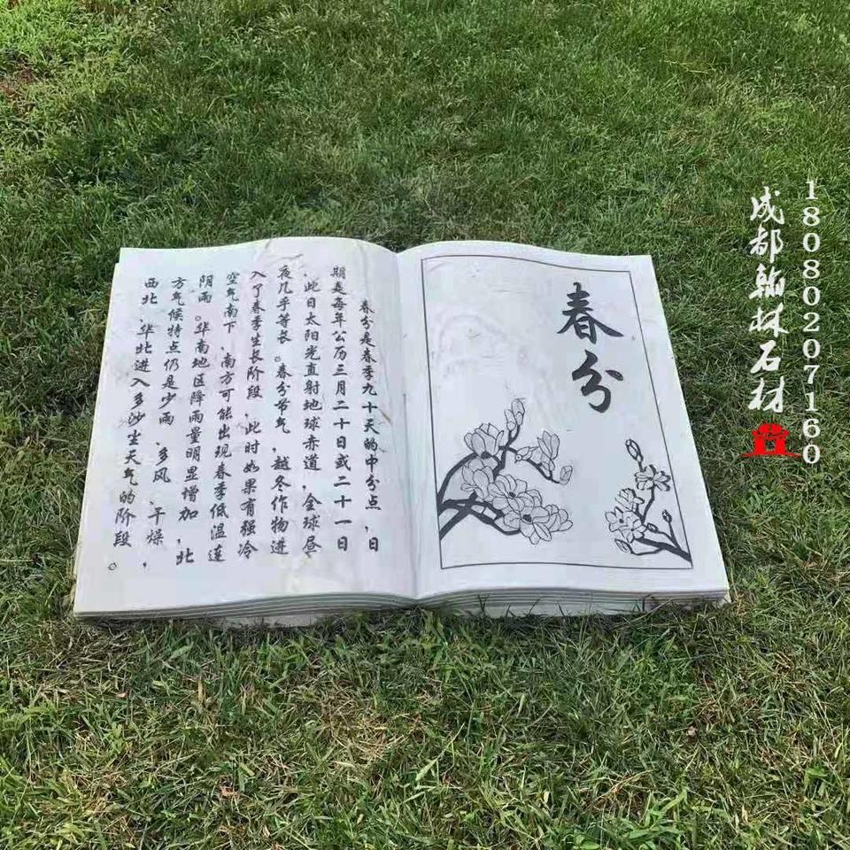 四川细节显实力节气石雕书