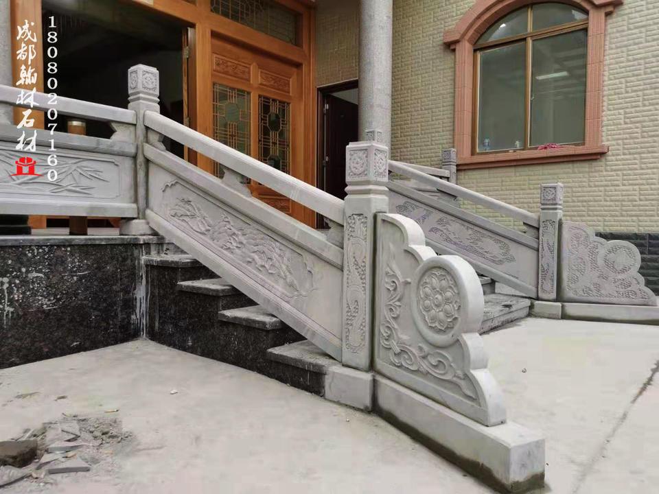 别墅家装阳台青石栏杆四川贵州重庆