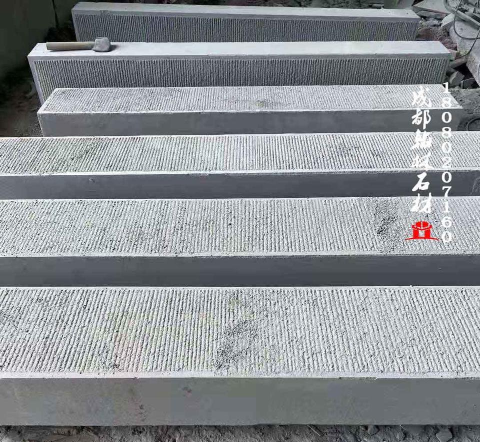 重庆青石錾道面梯步石专业定制加工