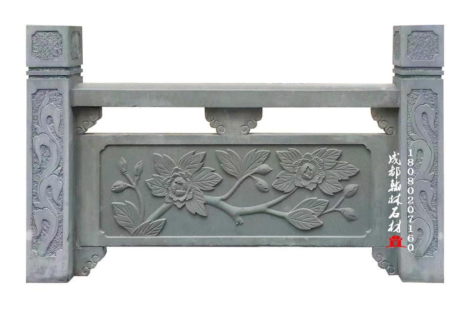 重庆青石石雕栏杆护栏厂家