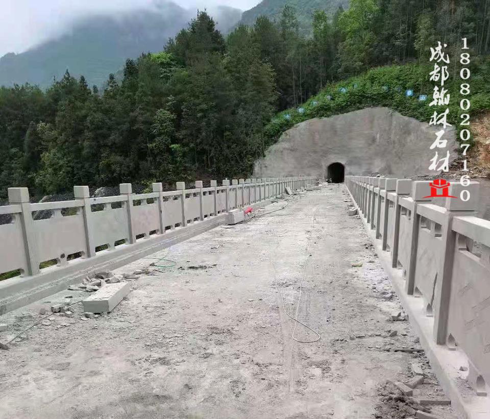 重庆市武隆区青石桥栏杆