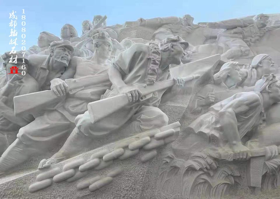厂家定制汉白玉人物雕塑欣赏