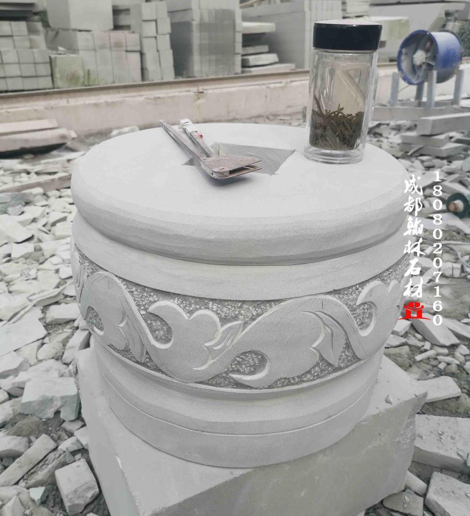 专业定制批发石雕柱墩