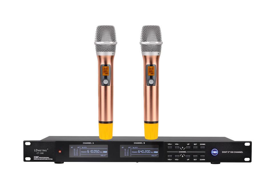 CT-168无线麦克风调频