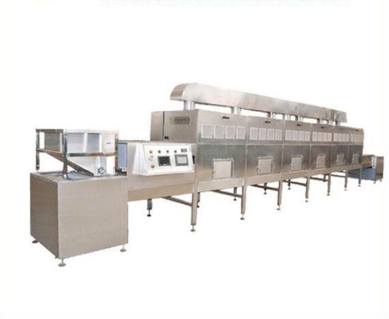 大米微波烘焙熟化设备