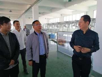 婺源县旅游经济发展中心领导指导华服园工业旅游创建工作
