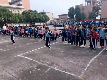 广州市花都区华晨学校——小学跳绳比赛