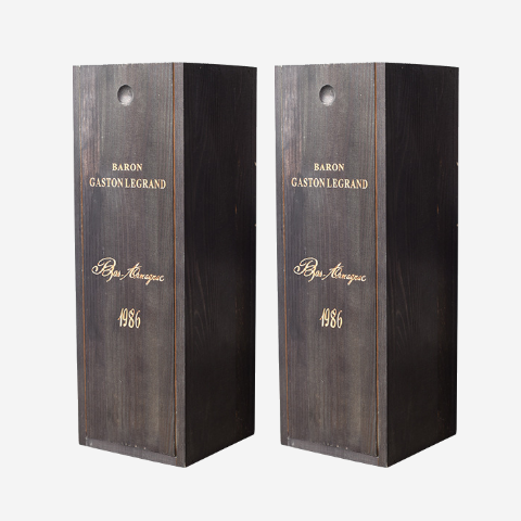 单只复古木制红酒木盒红酒包装盒