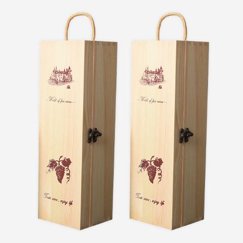翻盖式红酒礼盒通用单只装