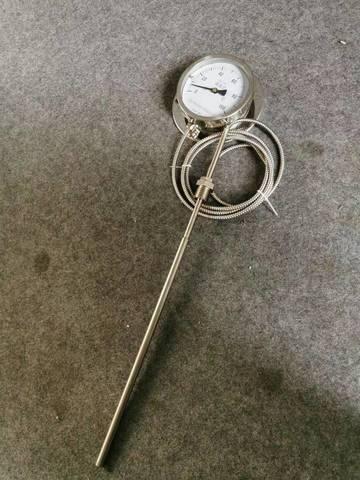 耐震双金属温度计特点及原理