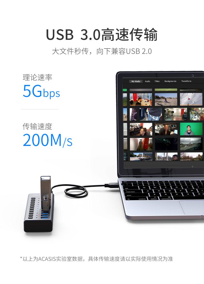 多孔USB接口