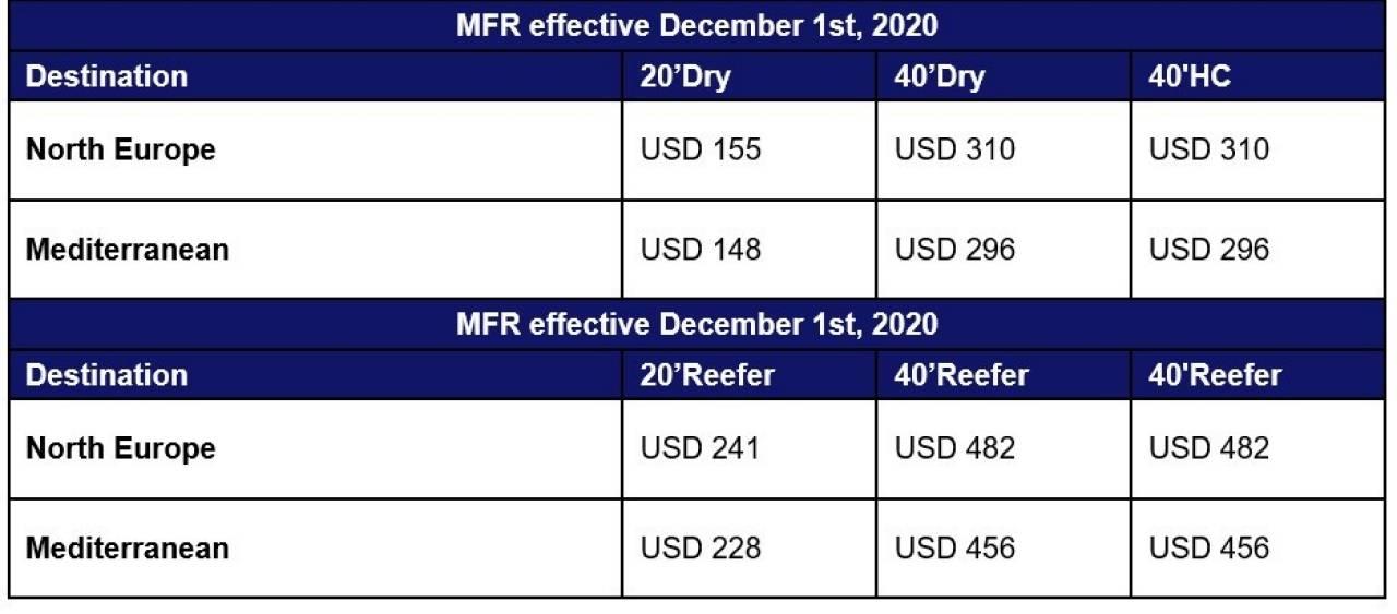 新一轮停航,THE联盟公布12月停航计划,该联盟船司创下亚欧运费新纪录!