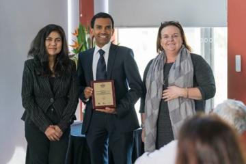 RANJITH PG教授荣获ELSEVIER SCOPUS颁发的可持续发展研究卓越奖