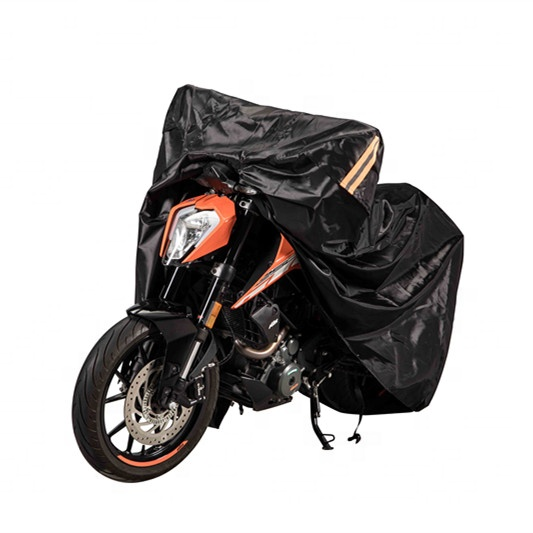 All Weather Protection Heavy Duty 190T Polyester Waterproof Motorcycle Cover
