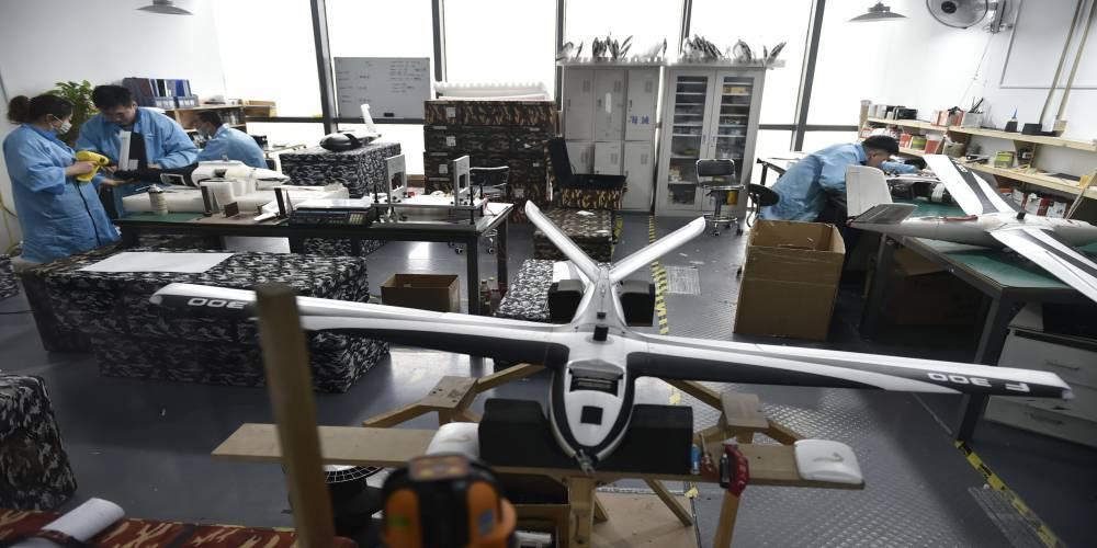 无人机组装、维修