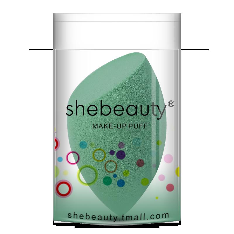 Shebeauty Cosmetics Beauty Sponge Blender- Green-2 piece