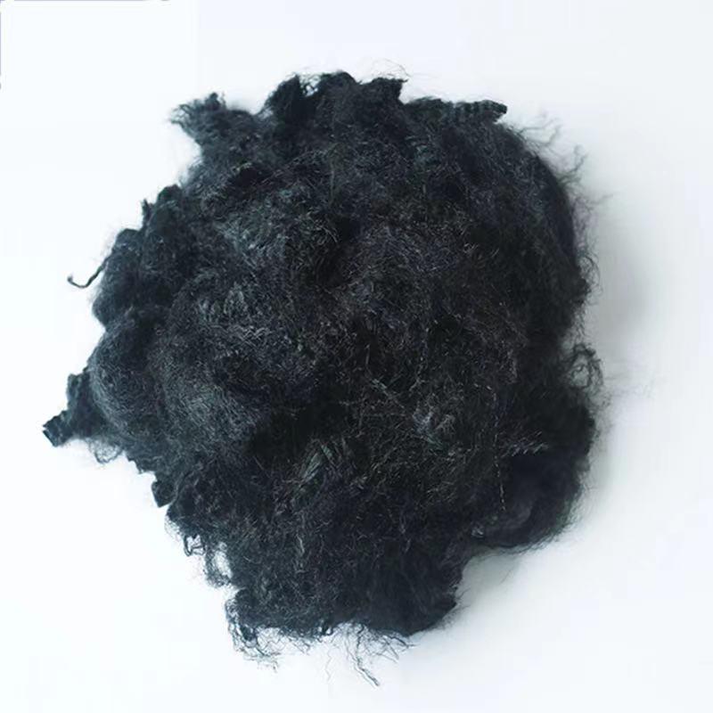 3D ~15D Polypropylene fiber in Black