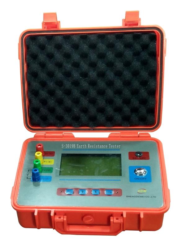 S-3019B 数字式接地电阻测试仪