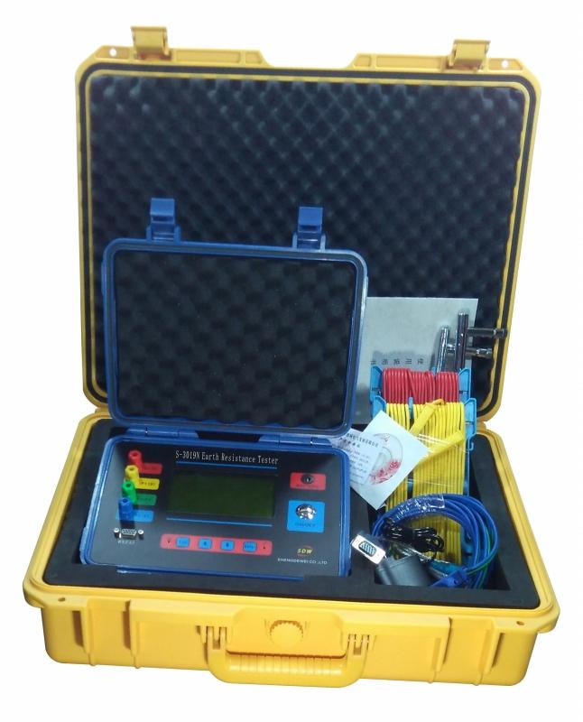 S-3019N 数字式接地电阻测试仪