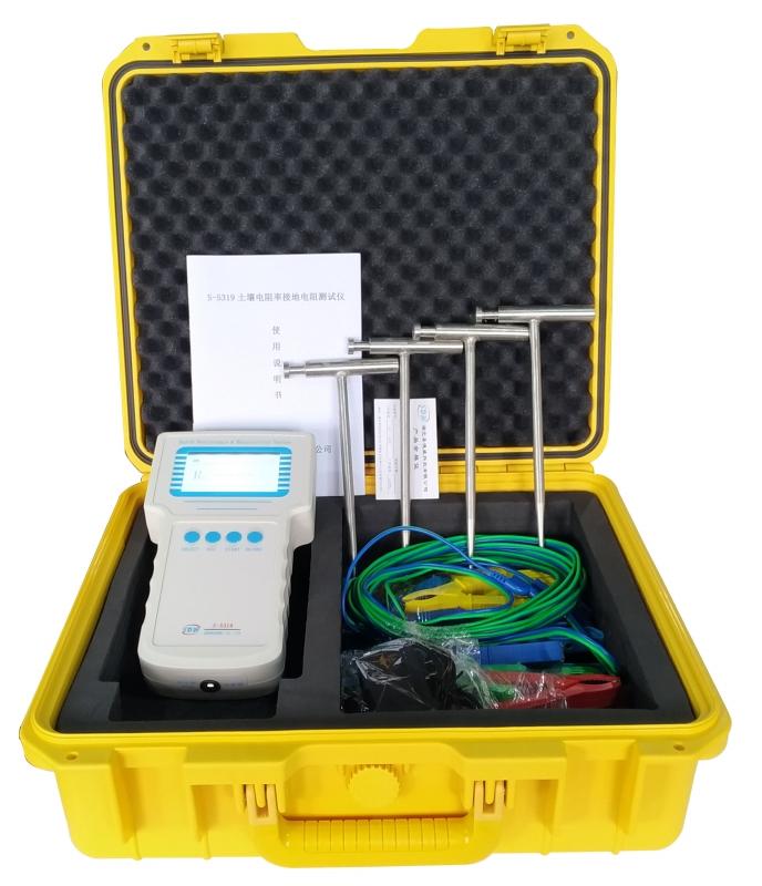 S-5319 土壤电阻率接地电阻测试仪