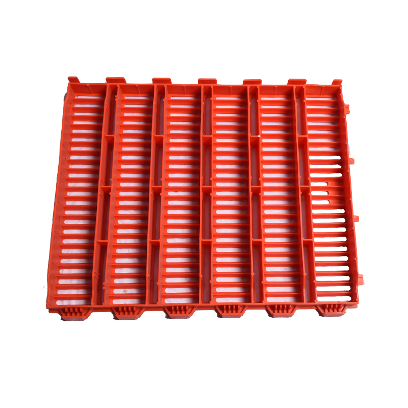 5X6红色双筋漏粪板