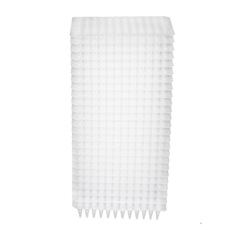 PCR板,96孔,200ul,透明,无裙边