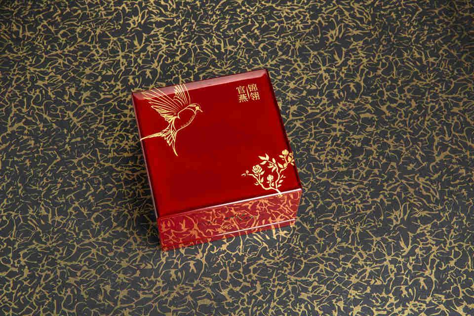 Guan Yan Jin Ling Lacquer box