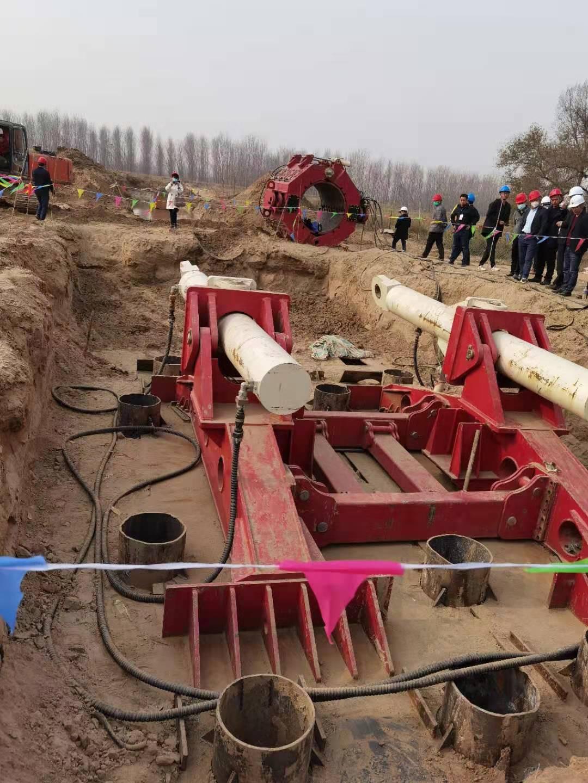 山东济南东部城区天然气改道工程