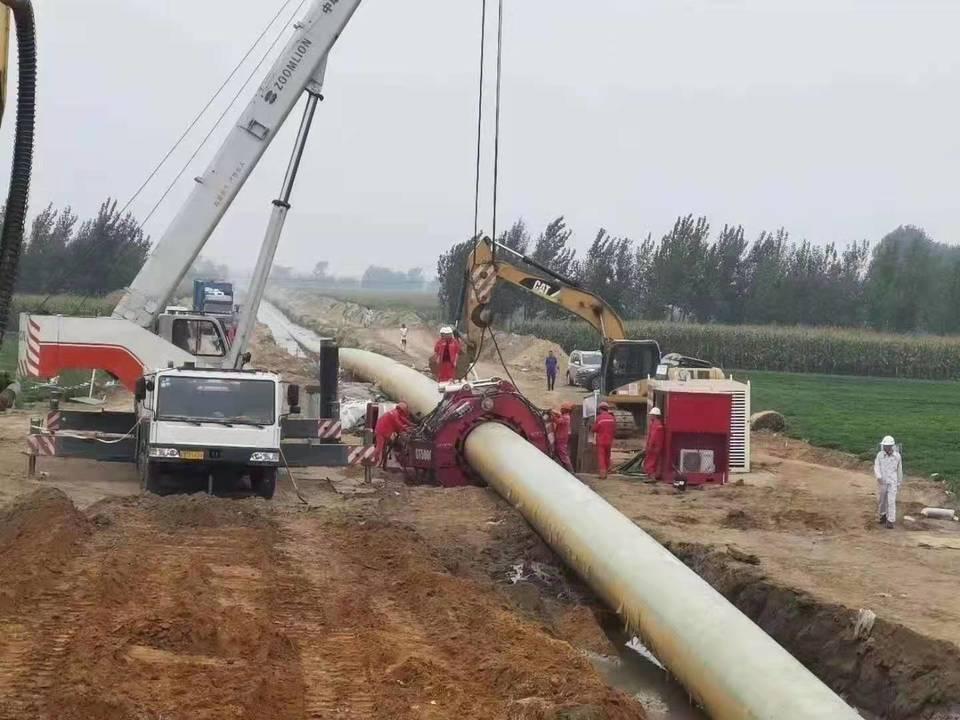 广东天然气管道改线工程