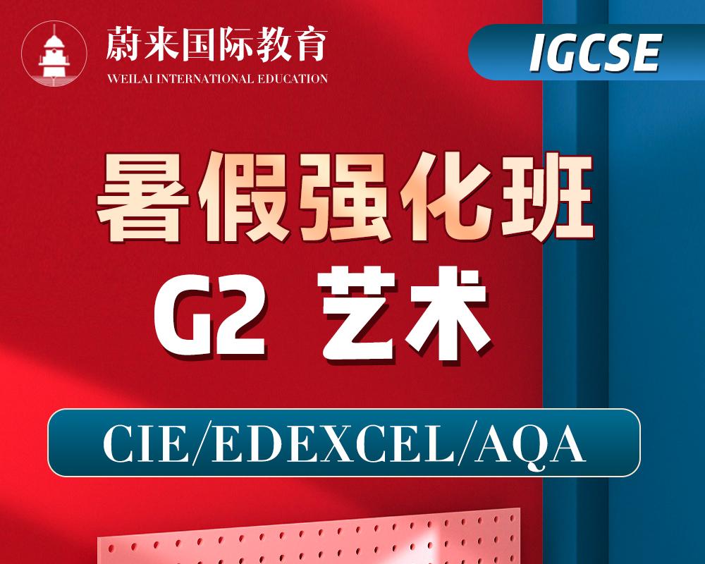 【IGCSE-G2】暑假强化班【艺术】