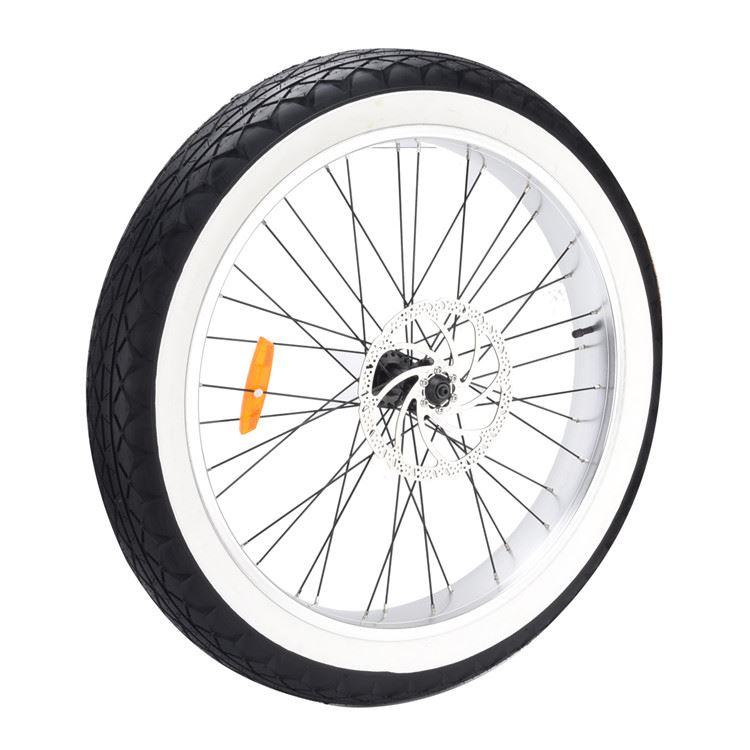TYRE 26X4.0 BLACK WITH WHITE WALL