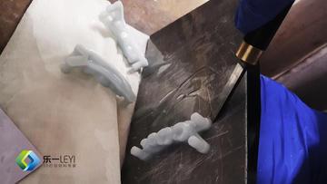 乐一齿科3D打印材料方案又一新突破,水洗牙模材料正式上市