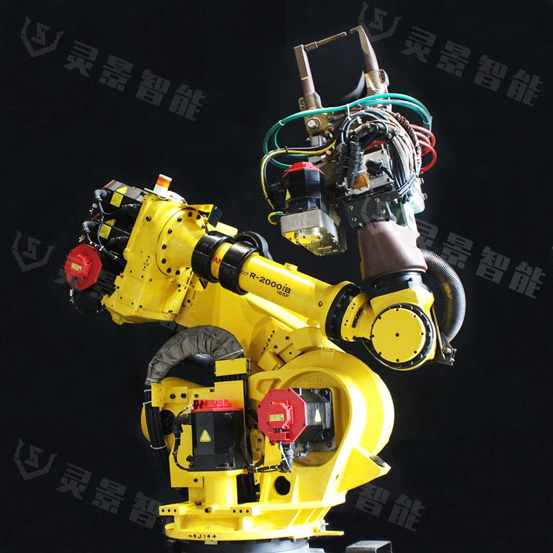 日本原装进口点焊套装发那科165F,小元点焊钳,焊机,95成新,插电即用!新机1/3 的价格
