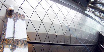 复合铝板幕墙面板组件有那些型式?