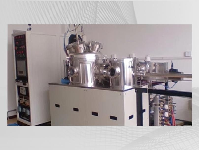 SJC500-1D型双室磁控溅射镀膜系统