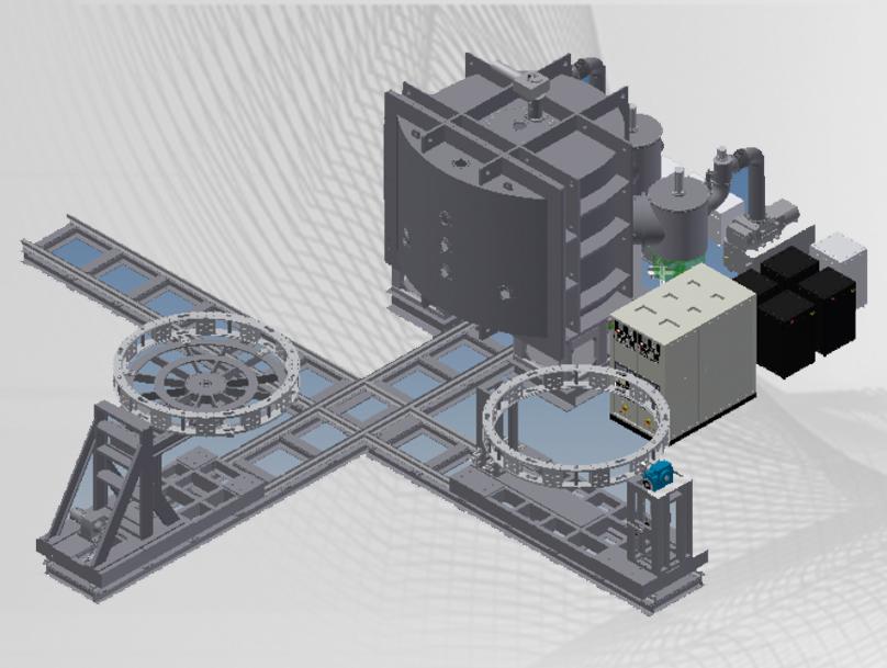 SXZ3200-1/G箱式真空镀膜系统(电子束蒸发)