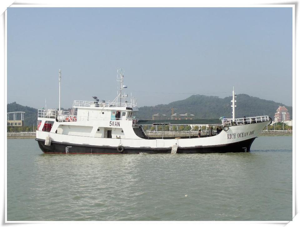 建造完工出口斯里兰卡的 RICH OCEAN 101