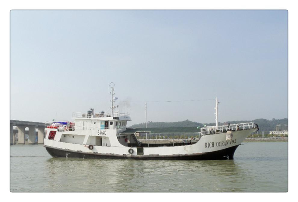 建造完工出口斯里兰卡的 RICH OCEAN 102