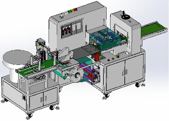 全自动SMT电路板套袋机