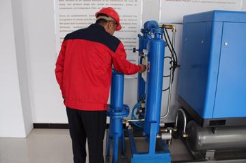 如何维护您的无油螺杆式空压机