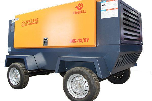 KINGBULL 750cfm Diesel Air Compressor For Sale