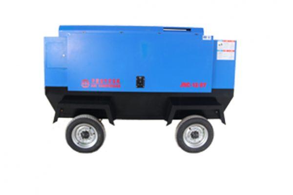 Portable Diesel Driven Screw Air Compressor