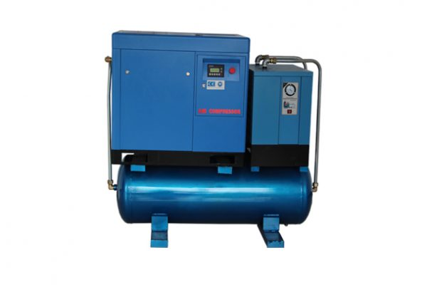 10hp-50hp Tank Mounted 4in1 Combined Screw Air Compressors