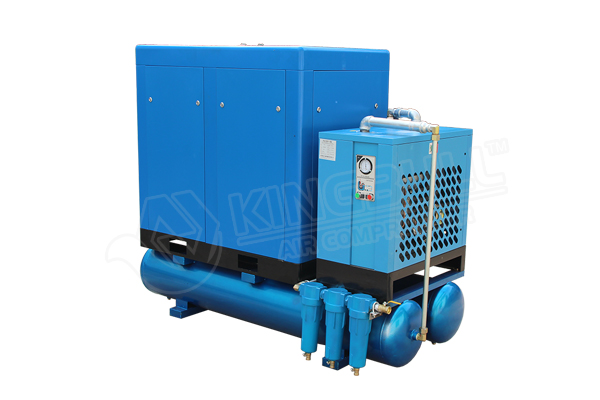 37 Kw 8 Bar Combined Screw Air Compressor Types Of Compressors And Their Applications