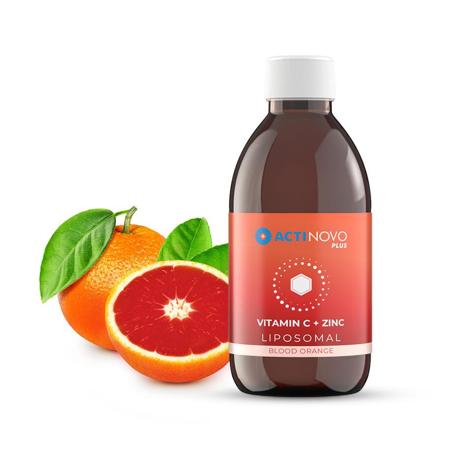 脂质体维生素C+锌/血橙果味
